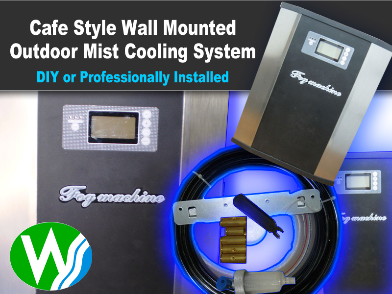 Outdoor Air Conditioning High Pressure Cafe Style Kit