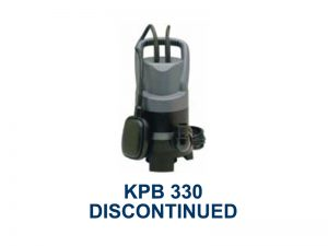 KPB 330 Discontinued Product