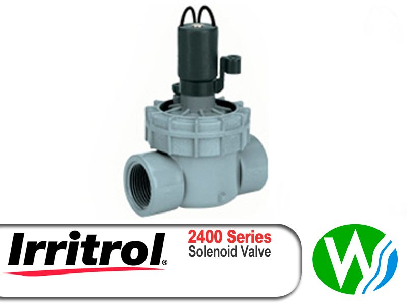 Irritrol Richdel Jar Top 2400 Solenoid Valve 25mm
