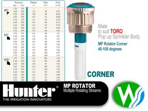 MP Rotator Male Corner