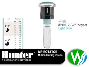 MP Rotator 1000 Female 210-270 degrees