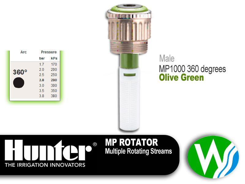 MP Rotator 1000 Male 360 degrees