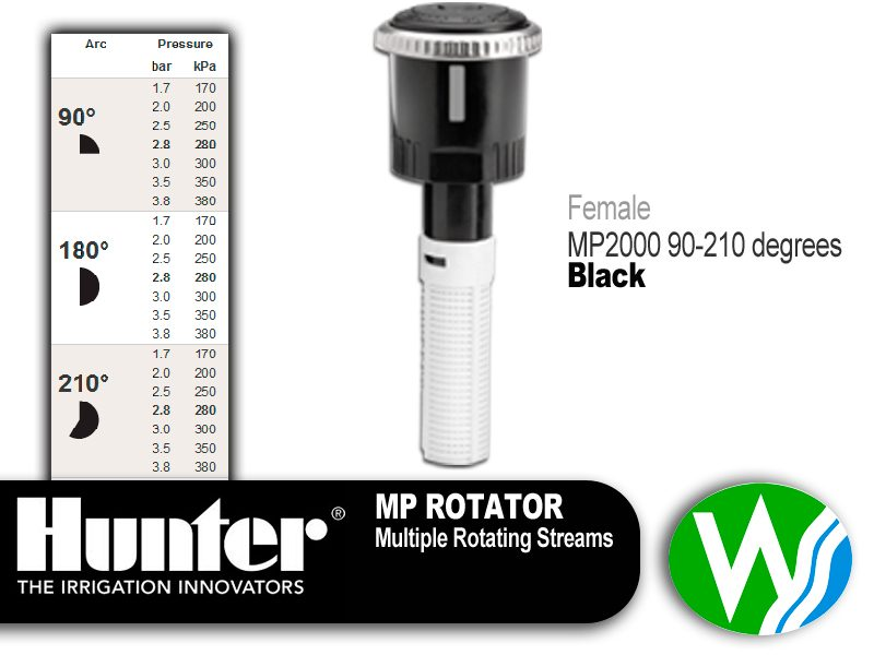 MP Rotator 2000 Female 90-210 degrees