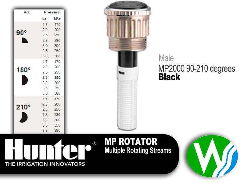 MP Rotator 2000 Male 90-210 degrees