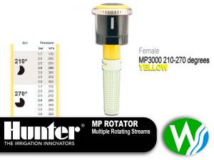 MP Rotator 3000 Female 210-270 degrees