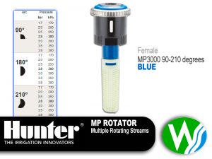 MP Rotator 3000 Female 90-210 degrees