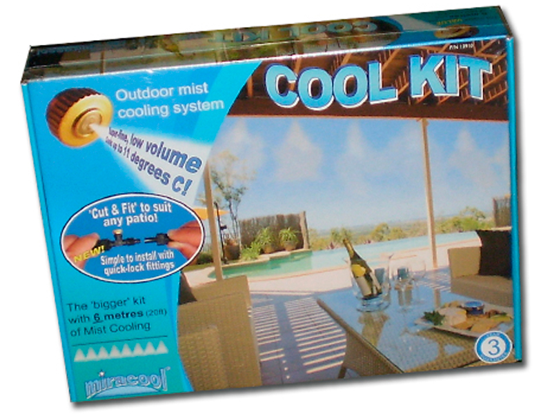 miracool cool kit for outdoor climate control the watershed water