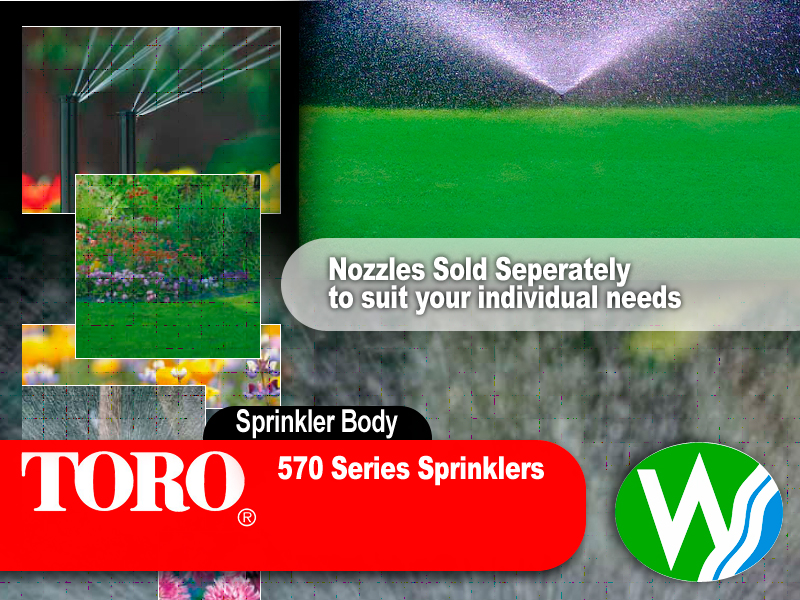 Toro 570Z 6P Pop Up Sprinkler Spray Body - The Watershed Water Systems