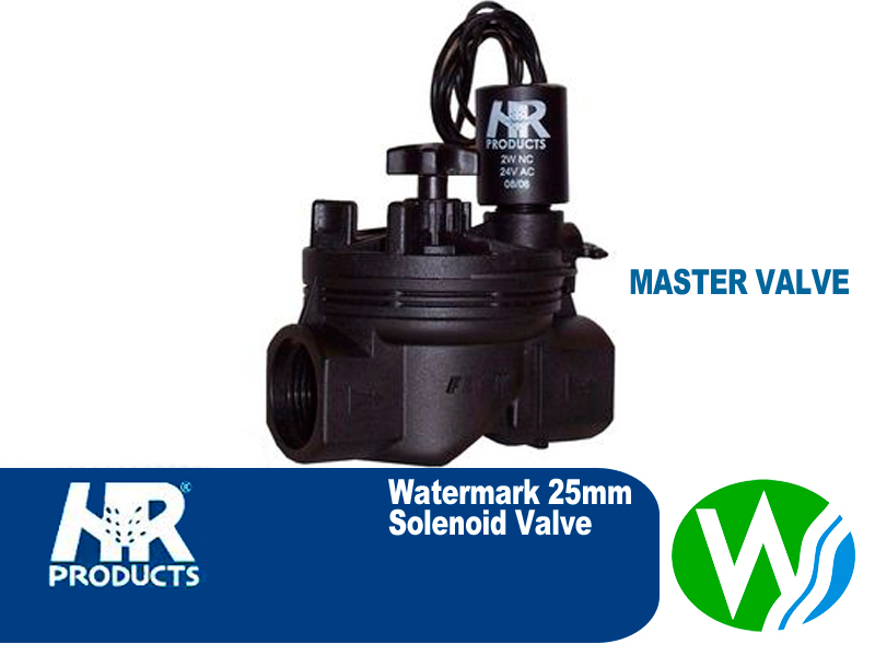 Master Valve Watermark Approved 25mm Solenoid Valve The