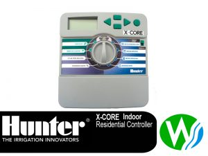 This Hunter X-Core 6 Station Controller indoor