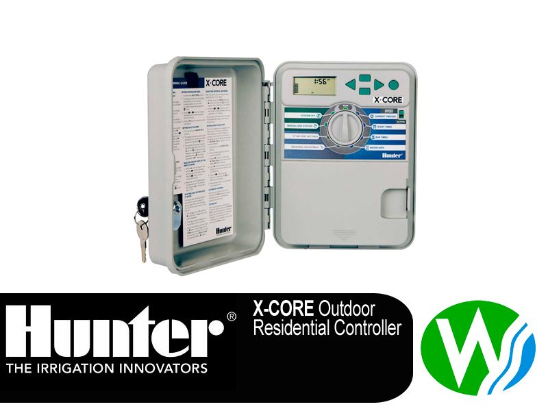 This Hunter X-Core 4 Station Controller Outdoor
