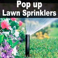 Sprinklers Lawn Pop Up