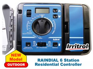 Irritrol Raindial Residential Controller 6 Station