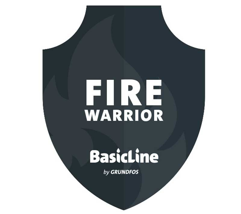 BasicLine Fire Warrior Firefighting Pump