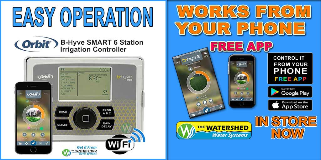 Weather based smart Irrigation Controller B-Hyve 6 station controller popular in Perth